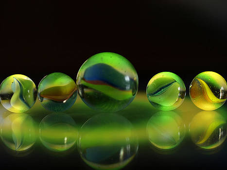 Marble Halo 1 by Robert Gaughan