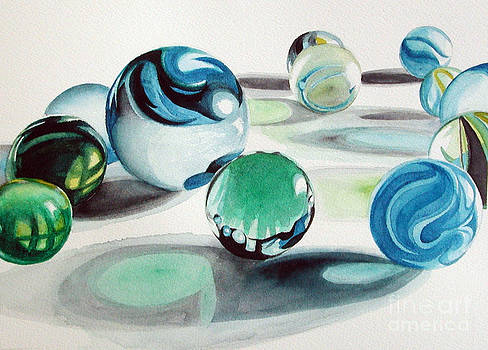 Marbles I by Elizabeth  McRorie
