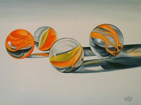Marbles in the Sun by Sharon Challand