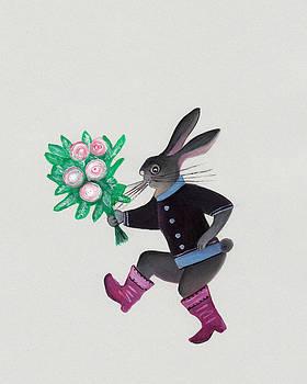 March hare by Marikohandmade