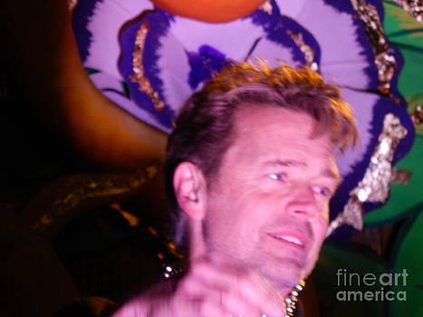Mardi Gras 2014 Captain Of Orpheus John Schroder by Michael Hoard