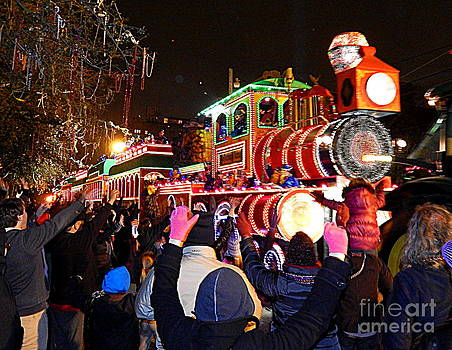 New Orleans Mardi Gras 2014 Orpheus Super Float Smokey Mary by Michael Hoard