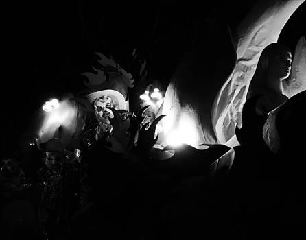 Mardi Gras by Night  by Louis Maistros