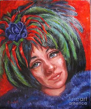 Mardi Gras Girl by Beverly Boulet