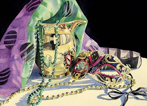 Mardi Gras Glitter by Lisa Pope
