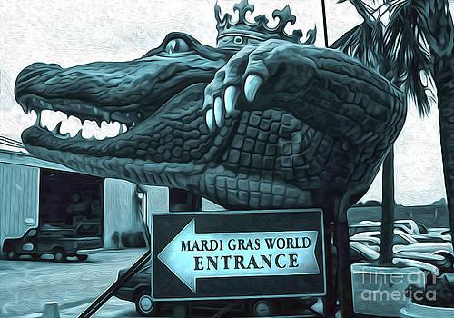 Gregory Dyer - Mardi Gras World - Alligator