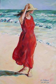 Mariela on Bonita Beach by Herschel Pollard