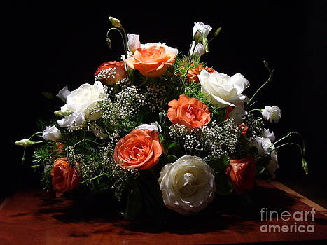 Marilena's Wedding Flowers 2 by Kathleen Pio