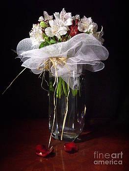 Marilena's Wedding Flowers by Kathleen Pio