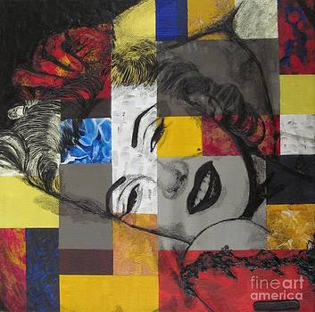 Marilyn In Abstract by Malinda  Prudhomme