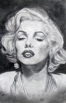 Marilyn Monroe by Christine Maeda