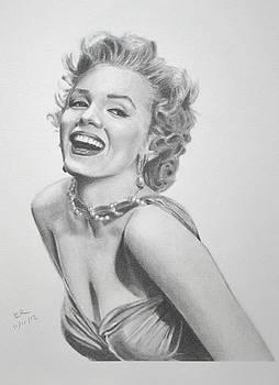 Marilyn Monroe by Enrique Garcia