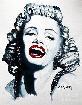 Marilyn Monroe by Maria Barry