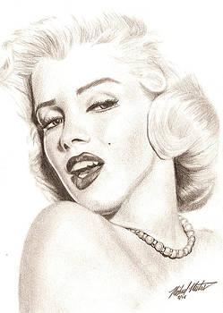 Marilyn Monroe by Michael Mestas
