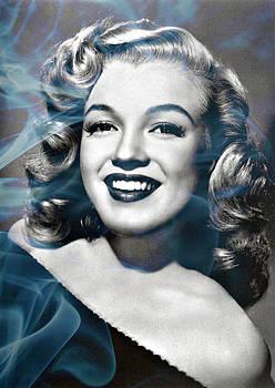 Marilyn on fire by Jo Ann