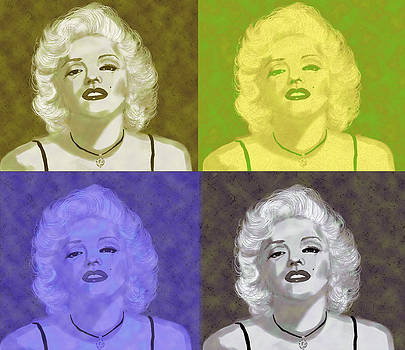 Marilyn Quartet by Kate Farrant