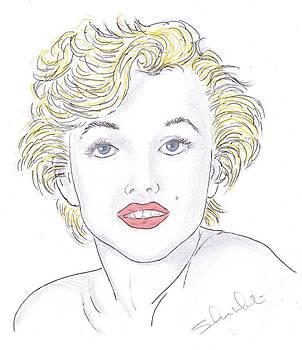 Marilyn by Steven White