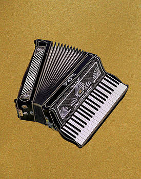 Marilyn's Accordion by Jamieson Brown