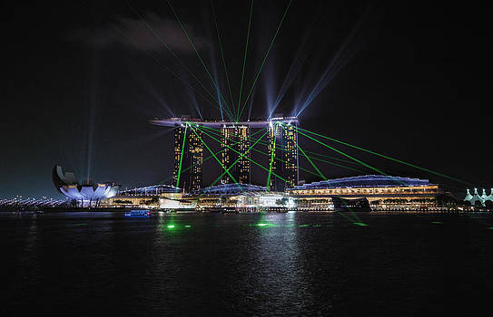 Marina Bay Sands Singapore by John Swartz