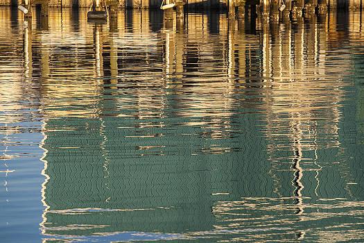 Marina Reflection 1 by John Clemmer Photography
