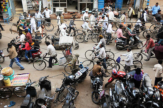 Market Clutter by Money Sharma