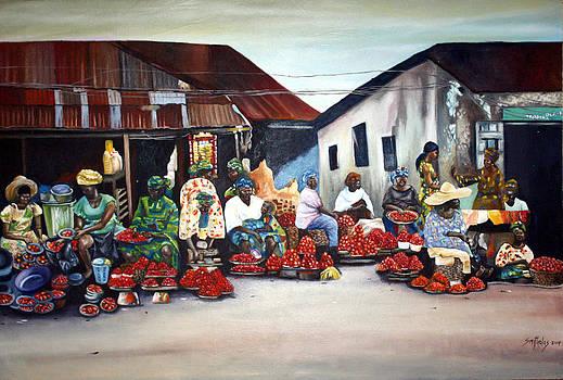 Market transaction by Olaoluwa Smith