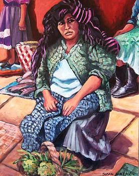 Market woman from Patzcuaro by Susan Santiago