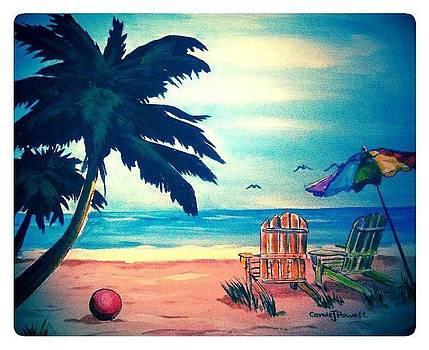 Marlene's Beach by Carole Powell