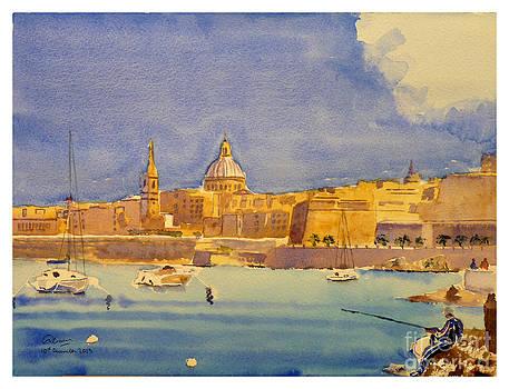 Marsamxett Harbour by Godwin Cassar