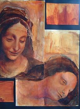 Mary and Elizabeth by Michael Hogan