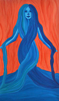 Mary - Mother of Earth - Mother of Light by Daina White