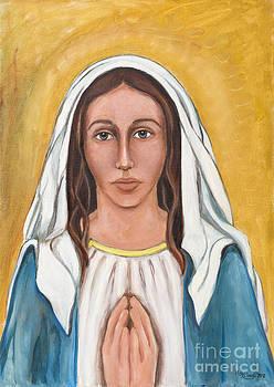 May Ling Yong - Mary praying
