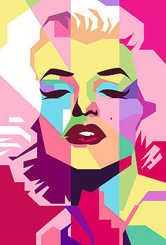 Marylin Monroe by Ahmad Nusyirwan