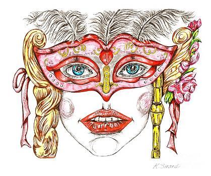 Mask by Karen Sirard