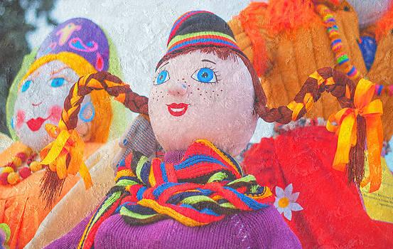 Jenny Rainbow - Maslenitsa Dolls. Russia