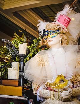 Masquerade Mannequin  by Rachel E Moniz
