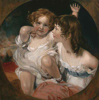 Master Copy of Sir Thomas Lawrence The Calmady Children by Terry Guyer