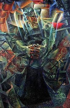 Umberto Boccioni - Materia, 1912 Oil On Canvas