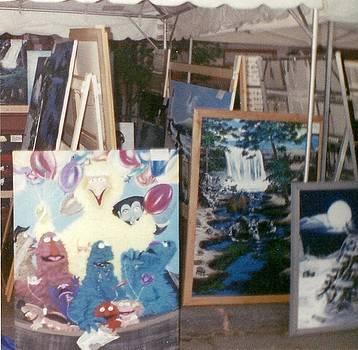 Mattoon street arta festival by Susan Roberts