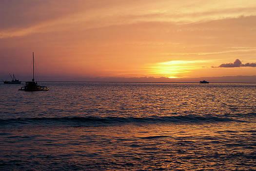 Maui Sunset by Randy Bayne