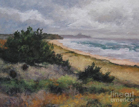 May Storm - Montauk by Gregory Arnett