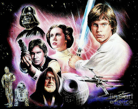 May the force be with you 2nd version by Andrew Read