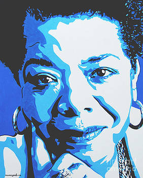 Maya Angelou by Nancy Mergybrower