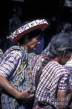 John  Mitchell - Maya Women in Santiago Atitlan Guatemala