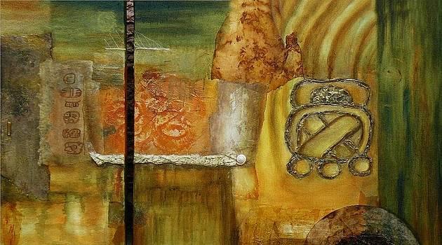 Mayan U o by Gilda Pontbriand
