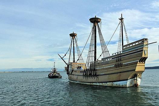 Mayflower II by Chuck Purro