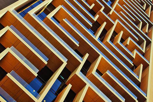 Maze Building Dubai by John Swartz