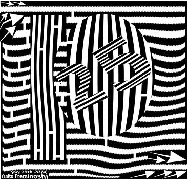 Maze of Please Deposit 25 CENTS by Yanito Freminoshi