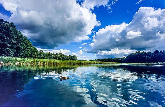 Mazury Summer Clouds No 1 by Martin Liebermann