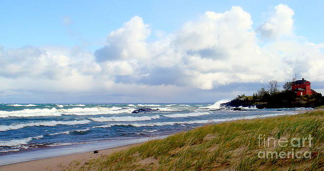 McCarty's Cove in Marquette by Jaunine Roberts
